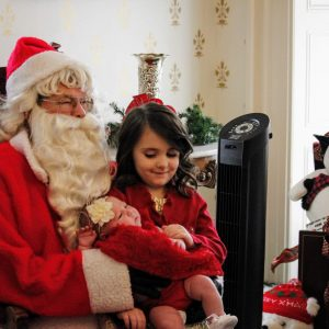 Santa gets children's lists; will be checking twice