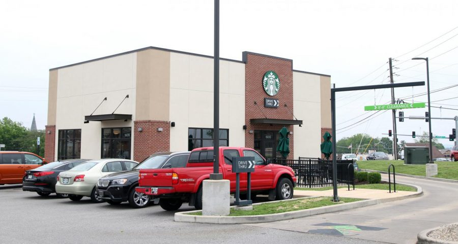 The Starbucks in Affton, 10015 Gravois Road, is the newest Starbucks built in South County.