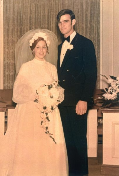 Al and Margaret Baker honor 50 years of wedded bliss