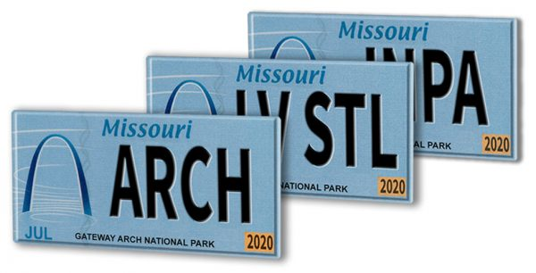 Missourians can now show off St. Louis with custom Gateway Arch license plate