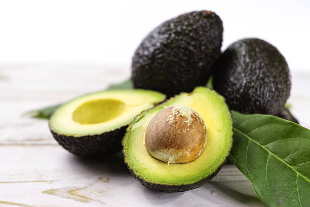Green+ripe+avocado+from+organic+avocado+plantation+-+healthy+food