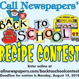Enter The Call's 2019 Back To School Recipe Contest