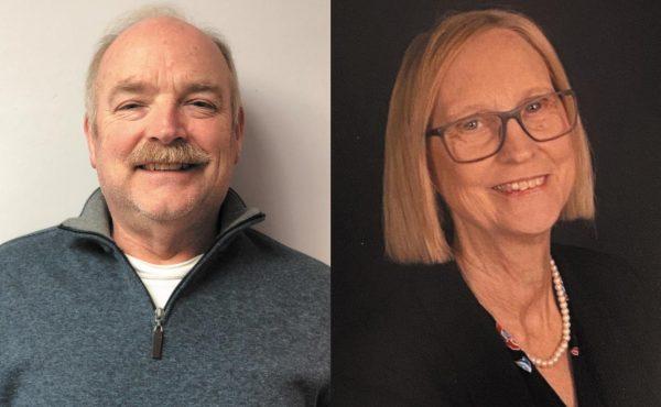 Fred Baumgarth, left, and Bonnie Stegman.