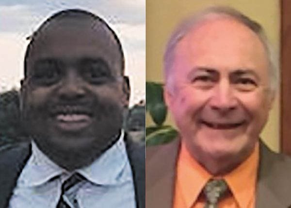 Paul Berry III, left, and Ed Golterman, right.