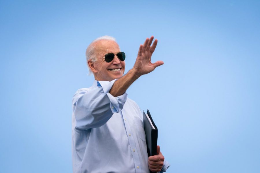 Joe Biden at a drive-in campaign rally at Broward College in Coconut Creek, Florida Oct. 29, 2020, 12 years after he came to South County for a campaign rally.