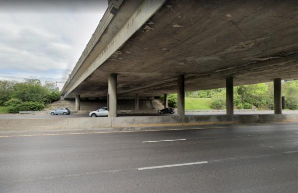 The Big Bend Bridge over Interstate 44.
