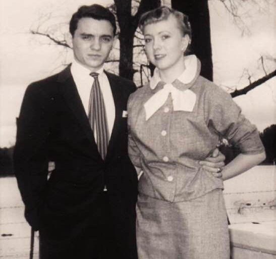 Walt and Ginger Bivins, 60 years ago
