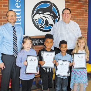 Kiwanis Club honors Blades Terrific Kids