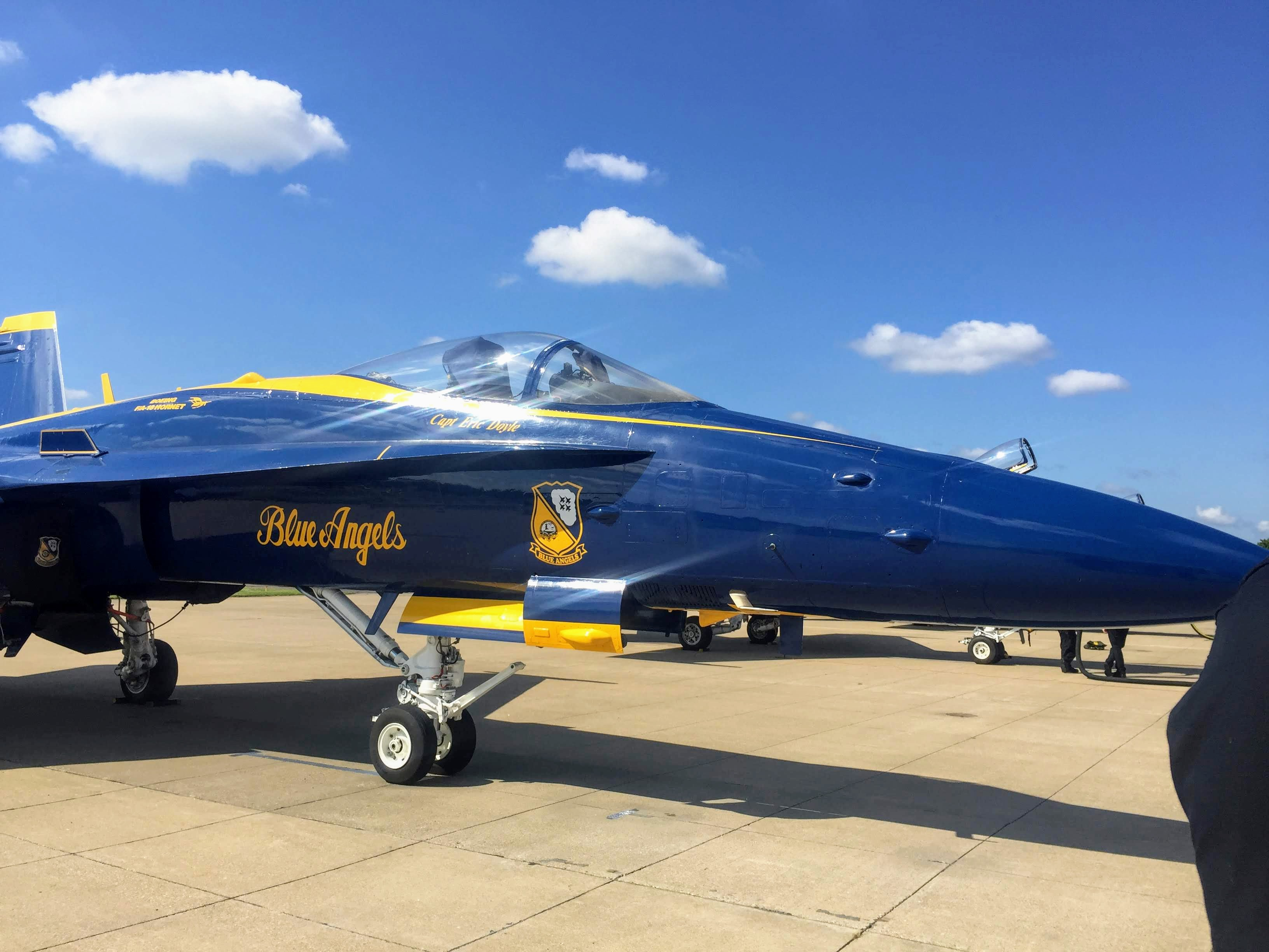 Spirit of St  Louis Air Show this weekend is one of a few