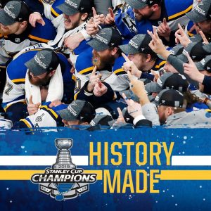 Blues win the Stanley Cup; parade is Saturday