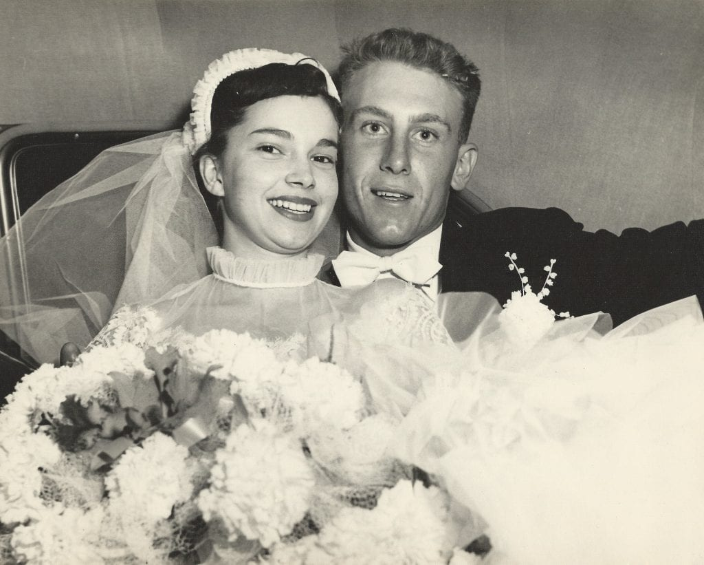 Pictured+above%3A+The+Brams+on+their+wedding+day+65+years+ago.+