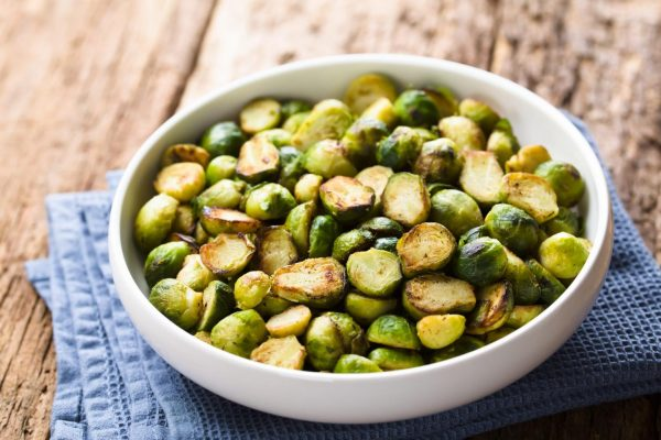 2020 Home for the Holidays Contest Scintillating Side Dishes: Holiday Brussels Sprouts and Baked Butternut Squash