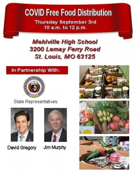Food boxes will be given away at COVID distribution event Thursday at Mehlville High