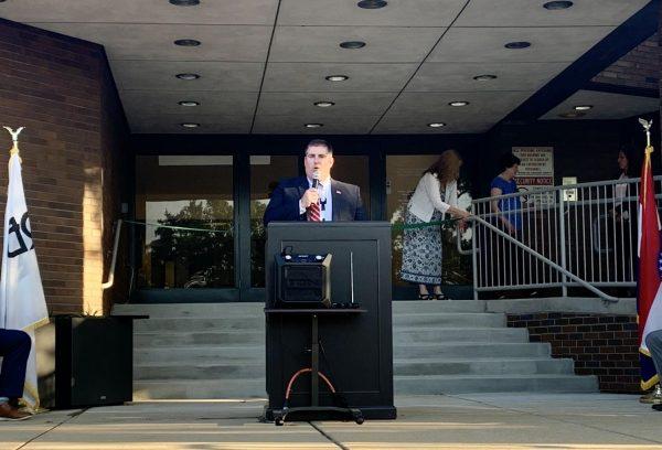Crestwood unveils improvements to city hall