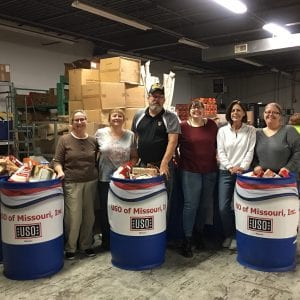 South County doubles 2017's USO drive with most successful food drive ever