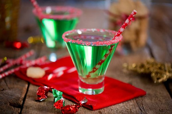 2020 Home for the Holidays Contest Holiday Beverages: Candy Cane Martini