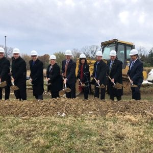 SSM Health executives 'break ground' on the new Cardinal Glennon pediatric facility in Concord.