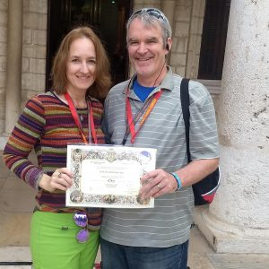 Patrick and Christine Reynolds wed for 25 years, celebrate in Holy Land