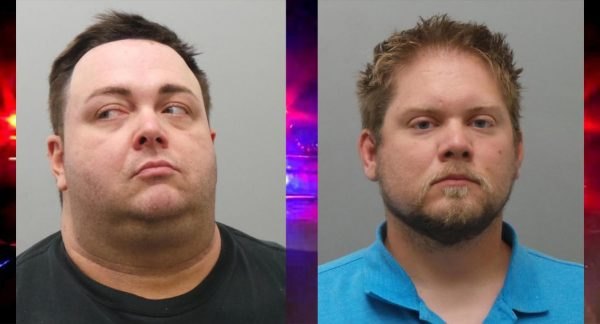 Christopher Gage, left, and Matthew Schanz, right.