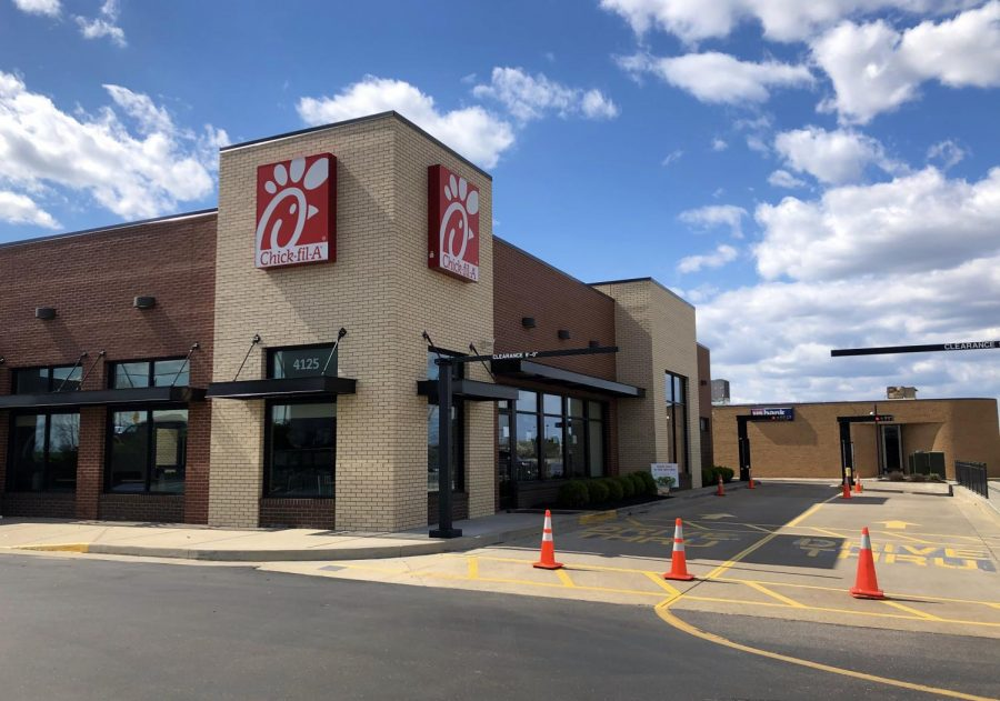 The+South+County+Chick-fil-A+is+closed+Tuesday%2C+March+31+after+an+employee+tested+positive+for+COVID-19.+The+restaurant+plans+to+reopen+Wednesday%2C+April+1+after+a+deep+cleaning.+