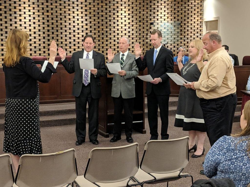 New+aldermen+sworn+in+at+Crestwood