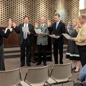 New aldermen sworn in at Crestwood