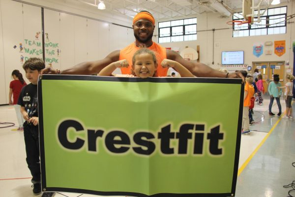 Crestwood Elementary School physical education and health teacher Darrion Cockrell was honored as Lindbergh Schools Teacher of the Year during a surprise announcement April 14.
