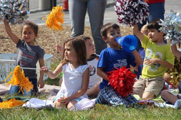 Crestwood Elementary students enjoy 'Character Kickball.'