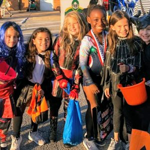 It was one of the coldest Halloweens in memory for St. Louis last week, but many students across the Lindbergh and Mehlville school districts had already tricked and treated at their schools' trunk or treats. At the Crestwood Elementary trunk or treat, above, students Sasha Bucherich, Mia Bucherich, Ansley Stiening, Phoebe Kent, Cecilia Chace and Grace Leitner attended as gymnast Simone Biles, Maleficent and the Descendants, among other luminaries.