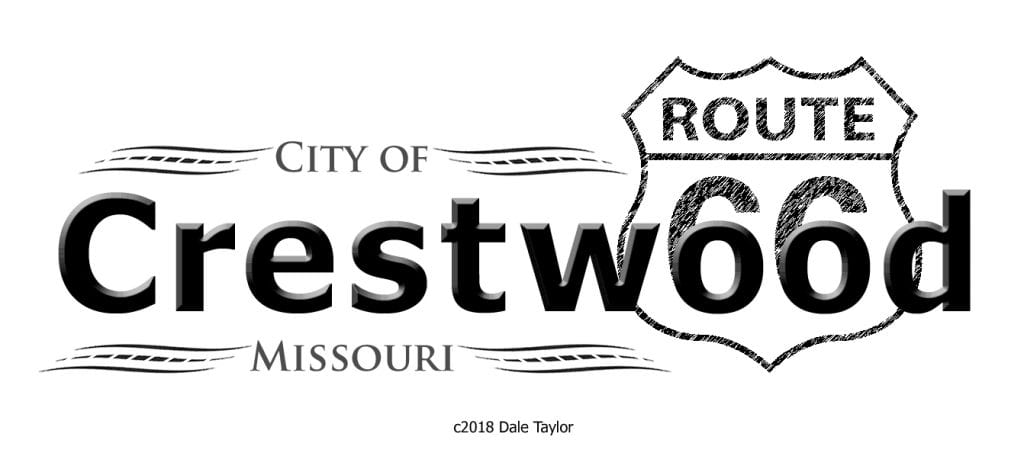 Dale+Taylor%27s+suggested+Route+66+logo+for+the+city+of+Crestwood.