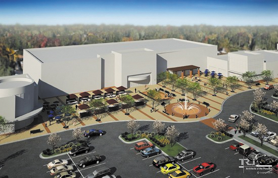 Crestwood mall reopened for development