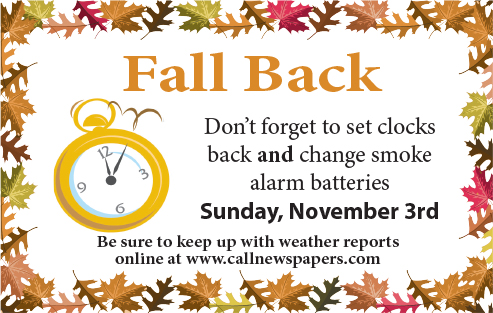 Remember to 'fall back,' check smoke alarms with Daylight Saving Time 2019 this weekend