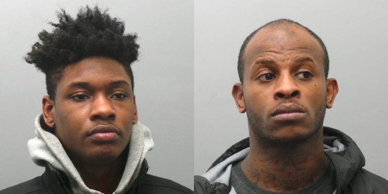 Demetrius Owens, left, and Ryan Jones, right.