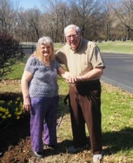 Dorothy Schwent and Joe Galeski Sr.