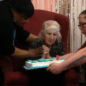 Sunset Hills resident celebrates 106th birthday