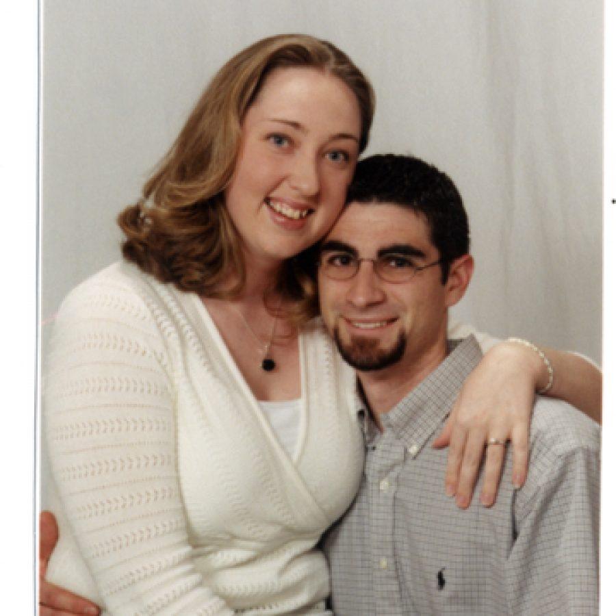 Krista Evans and John Indelicato