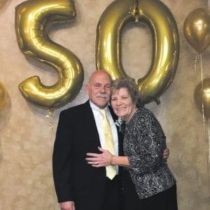 Bob and Sheila Florian celebrate 50th wedding anniversary