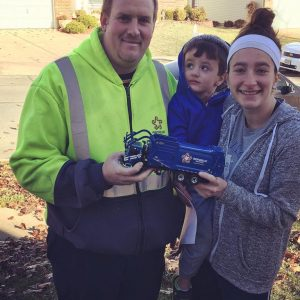 A follow-up on an earlier Call story: Oakville resident Annie Miskovic and her son Sam, 3, always waited every week for their former Republic trash hauler, Fred Davenport, who developed a friendship with the boy. Although most of Oakville is switching trash providers, Sam will still be able to see Fred in action because Fred let the family know where his closest route will be.