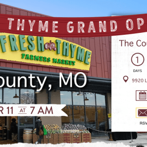 Fresh Thyme opens Green Park location Wednesday