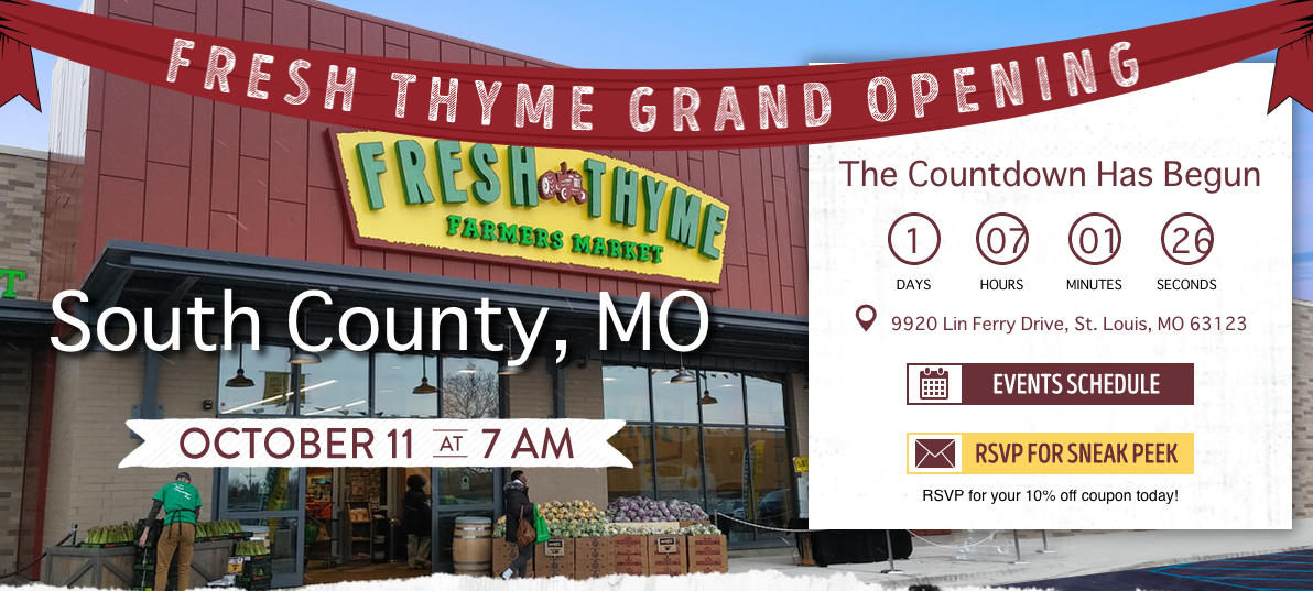 Fresh Thyme Opens Green Park Location Wednesday Call Newspapers