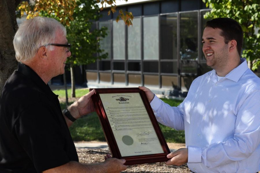 LHS Teacher of the Year honored by state representative