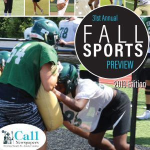 Fall Sports Preview published the 31st time