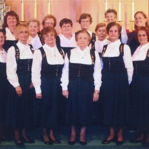 Ladies Choir of the St. Louis German Cultural Society.