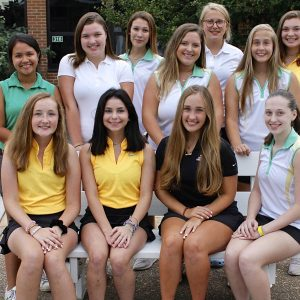 The Lindbergh girls golf team is driving for wins with the help of top player Sofia Gamayo, with a goal of qualifying for state, said coach Mike Tyler. photo by Erin Achenbach.