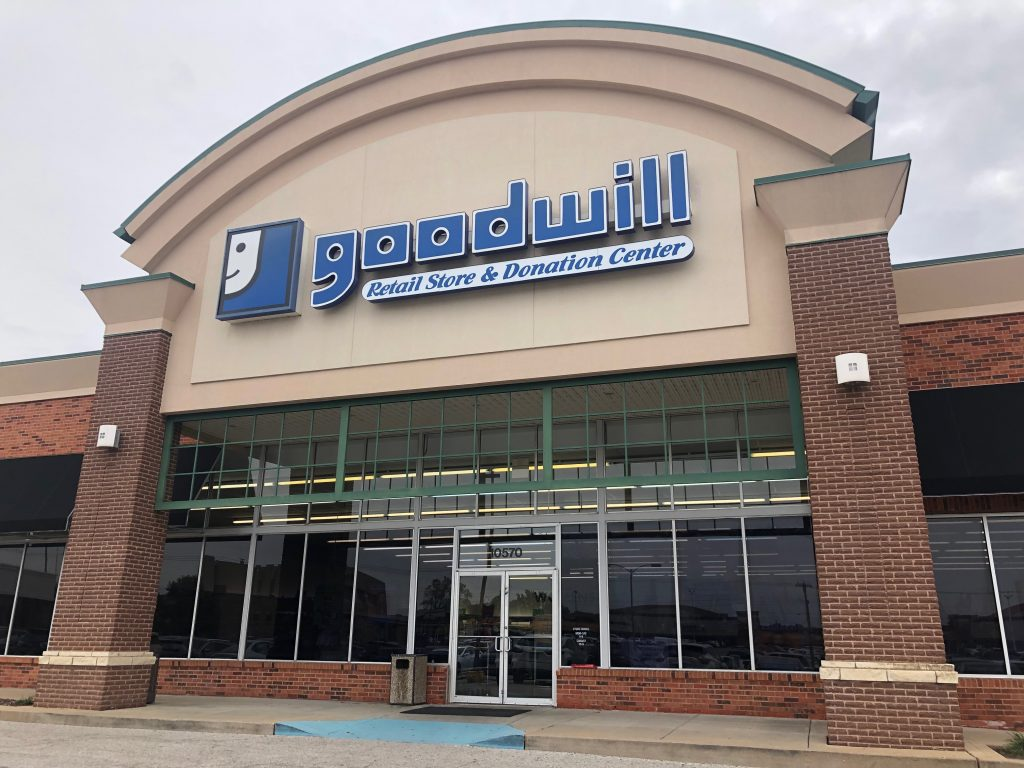 The+Goodwill+store+on+Baptist+Church+Road%2C+as+seen+Oct.+25.+Photo+by+Erin+Achenbach.