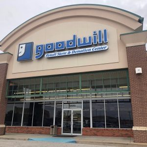 The Goodwill store on Baptist Church Road, as seen Oct. 25. Photo by Erin Achenbach.
