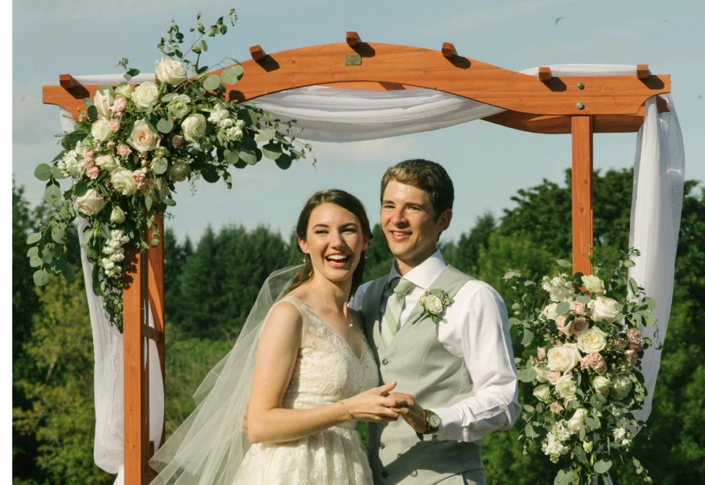 Rachel Grewe and Eli Limper