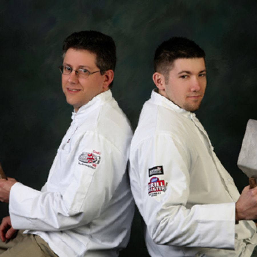 Daniel Beckard and Kalem Fredrick will compete in the third annual Grill Master National Competition.