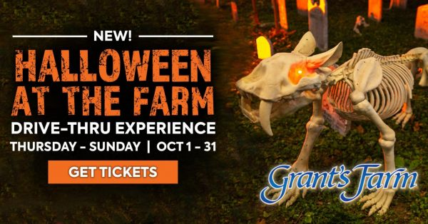 Grant's Farm will reopen for unique Halloween Drive-Thru Experience in October