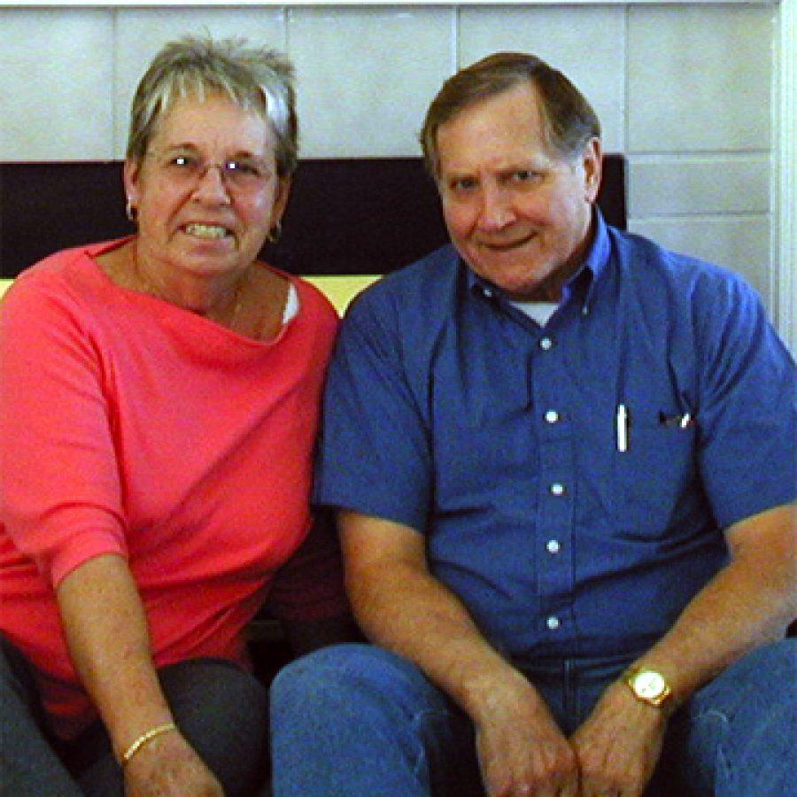 Mr. and Mrs. Hogland
